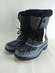 ブーツ/28cm/BLK/ウール