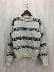 セーター(厚手)/M/ウール/CRM