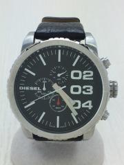 クォーツ腕時計/アナログ/BLK/DZ4208