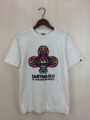 Tシャツ/M/コットン/WHT/