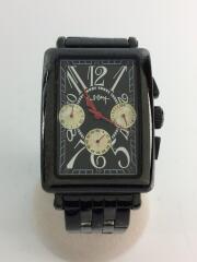 自動巻腕時計/アナログ/ステンレス/BLK/BLK