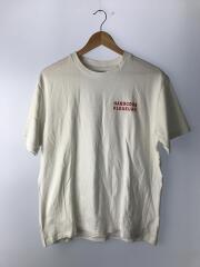 Tシャツ/L/コットン/WHT/プリント