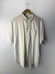 Lis-601412/半袖シャツ/2/レーヨン/WHT/無地