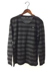 セーター(薄手)/3/ウール/BLK/バーバリーブラックレーベル