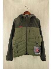 BELAY Hybrid Insulation Jacket Men/ブルゾン/L/ナイロン/KHK