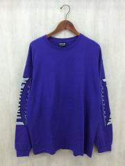 アームプリント/ロゴプリント/長袖Tシャツ/L/--/PUP/無地