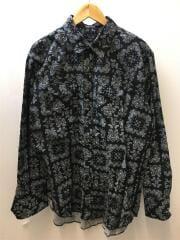 20AW Western Shirt Bandana Print-Black/L/コットン/BLK/ペーズリー