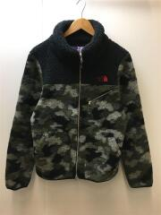 Mountain Fleece Jacket NA2183N フリースジャケット/L/ポリエステル/カモフラ
