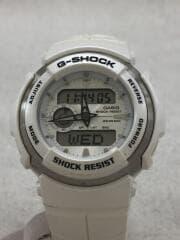 クォーツ腕時計/デジアナ/WHT/WHT/白/ホワイト/g-shock/ジーショック