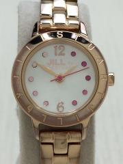 クォーツ腕時計/アナログ/--/GLD