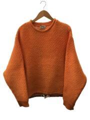 19SS/チャンキーセーター/セーター(厚手)/XS/ORN/汚れ・着用感有