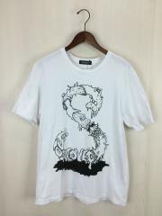 Tシャツ/4/コットン/WHT