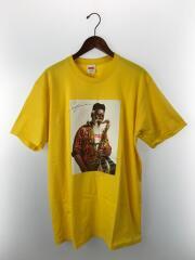 20AW/Pharoah Sanders Tee/Tシャツ/L/コットン/YLW