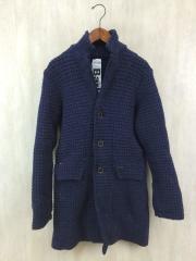 2013AW/Short Duffel Coat/XS/ウール/NVY/無地