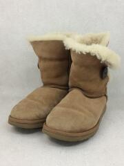 ブーツ/US6/ベージュ/ムートン/冬物/ナチュラル/レディース/靴/くつ