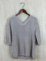 セーター(薄手)/--/コットン/GRY