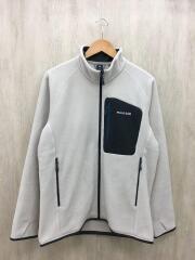 モンベル/フリースジャケット/XL/ポリエステル/ホワイト