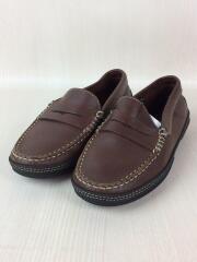 TODS JUNIOR/コインローファー/SIZE:30/キッズ靴/革靴/レザー/BRW