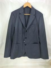 テーラードジャケット/48/ウール/GRY