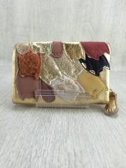 2つ折り財布/レザー/マルチカラー