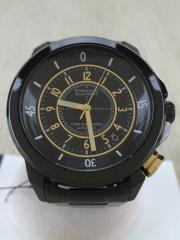 自動巻腕時計/アナログ/BLK/BLK