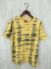 Tシャツ/S/コットン/YLW