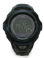 ソーラー腕時計・G-SHOCK/デジタル/チタン/BLK/BLK