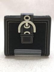 2つ折り財布/--/BLK