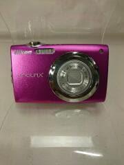 デジタルカメラ COOLPIX S3000/ピンク