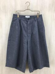 ボトム/1/ウール/GRY/無地/FLANO WOOL WIDE PANTS/38PAN02