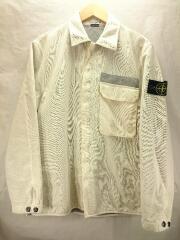 Overcoat Jacket/M/ポリエステル/WHT/無地/39151310/MADE IN ITALY
