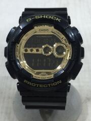 G-SHOCK/クォーツ腕時計/デジタル/BLK/カシオ
