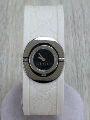 腕時計/アナログ/BLK/WHT