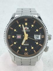 キングマスター/オートマチック/自動巻腕時計/アナログ/ステンレス/BLK/AA00-C1-B