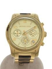 クォーツ腕時計/アナログ/ステンレス/GLD/MK5659/111207
