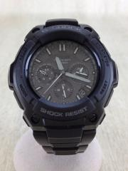 G-SHOCK MT-G/腕時計/アナログ/--/BLK/BLK/MTG-1200B-1AJF/箱・コマ有