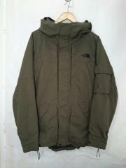FORCE JACKET/XL/ナイロン/BRW/無地/NS15603