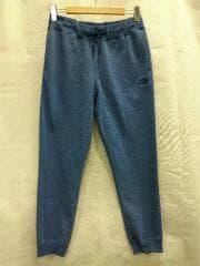 HEATHER SWEAT PANT/M/コットン/BLU/NB81831