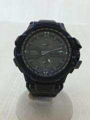 ソーラー腕時計/アナログ/BLK
