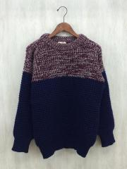 セーター(厚手)/--/ウール/NVY