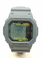 ソーラー腕時計・G-SHOCK/デジタル/NVY