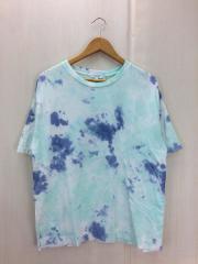 Tシャツ/L/コットン/BLU/タイダイ/1217-199-0078