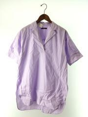 20SS/80タイプライターチュニックシャツ/20050400909010/半袖シャツ/--/コットン/PUP