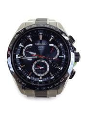 ソーラー腕時計/アストロン/GPSソーラー/アナログ/BLK/SLV/8X53-0AB0-2