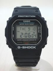 クォーツ腕時計・G-SHOCK/デジタル/ラバー/BLK/BLK