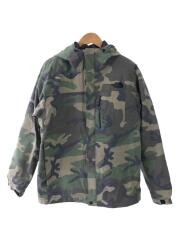 NOVELTY ZEUS TRICLIMATE JACKET/XL/ナイロン/GRN/カモフラ