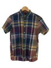 半袖シャツ/S/コットン/チェック/ビッグチェックボタンダウンシャツ/11-01-0568-139