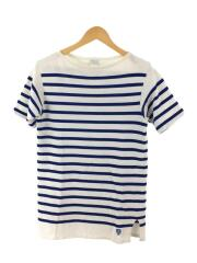 Tシャツ/3/コットン/ボーダー