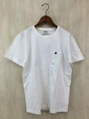 Tシャツ/XL/コットン/WHT/無地