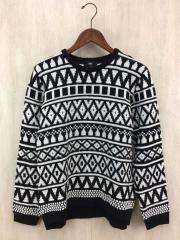 セーター(厚手)/S/アクリル/WHT